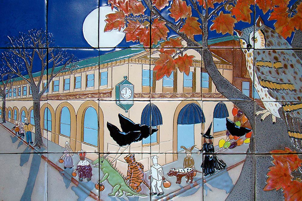 Katherine Hackl Public Art - Somerville Train Station